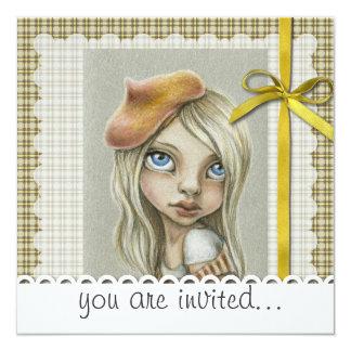 """Claire Invitación 5.25"""" X 5.25"""""""