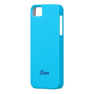 Claire iphone 5 blue case iPhone 5 case