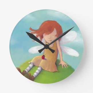 Claire Keay - fairy and ladybird Clock