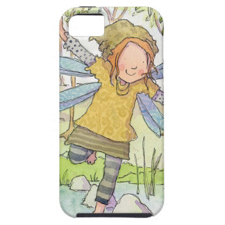 Claire Keay fairy on stepping stones iPhone 5 Case