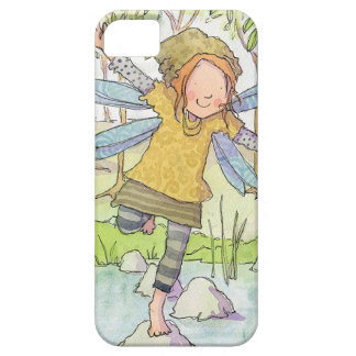 Claire Keay fairy on stepping stones iPhone 5 Covers