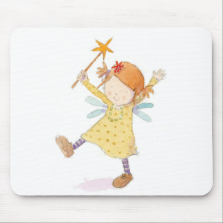 Claire Keay - fairy with wand Mouse Pad