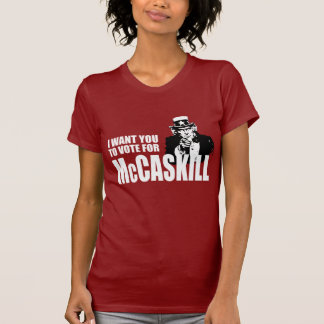 CLAIRE MCCASKILL Election Gear T-shirt