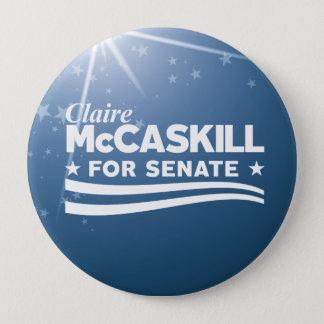 Claire McCaskill for Senate Button