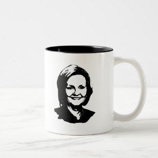 Claire McCaskill Two-Tone Coffee Mug
