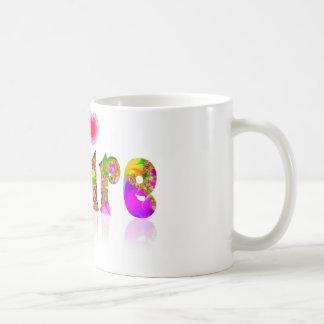 Claire Classic White Coffee Mug