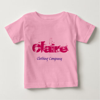 Claire Name Clothing Company Baby Shirts