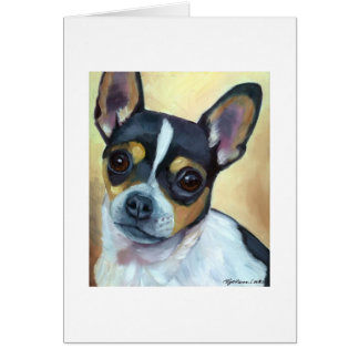 Claire Oil Painting Blank Card