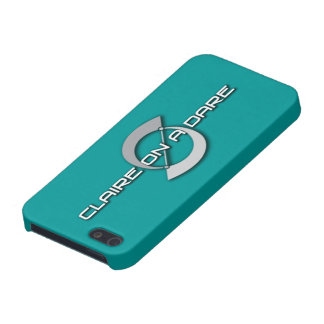 Claire on a Dare logo iPhone 5 case