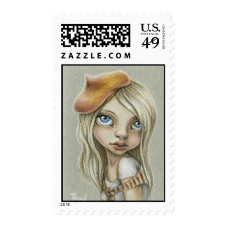Claire Postage Stamp