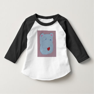 Claire Toddler American Apparel 3/4 Sleeve Raglan T-shirt
