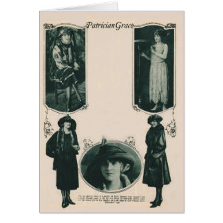 Claire Windsor 1922 vintage fashions card
