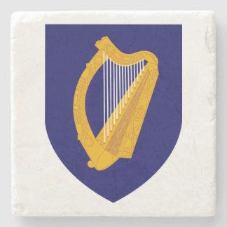 Cláirseach: Práctico de costa irlandés de la arpa Posavasos De Piedra