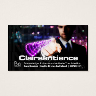 Clairsentience - 21 Day Perspective Challenge Business Card