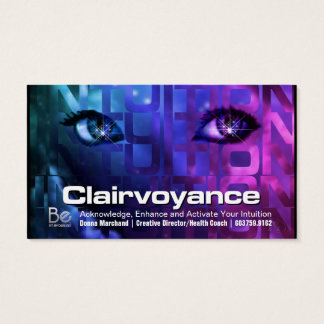 Clairvoyance - 21 Day Perspective Challenge Business Card