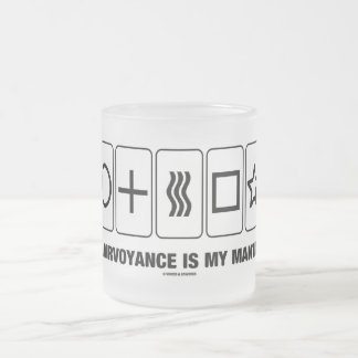 Clairvoyance Is My Mantra (Psyche Humor) Mug