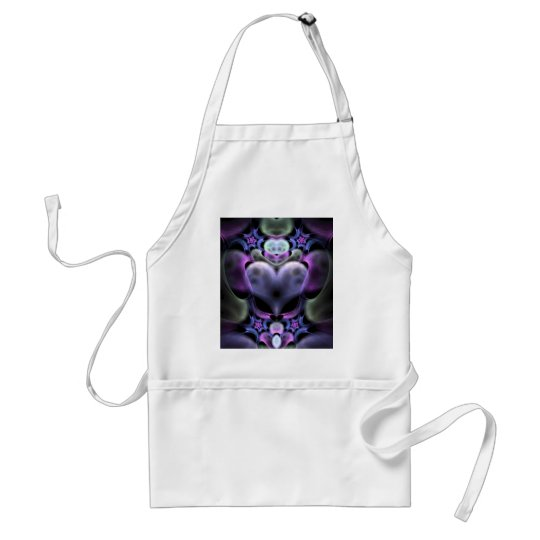Clairvoyant Heart Fractal Aprons