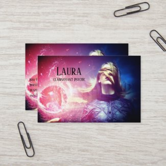 Clairvoyant Psychic 3 Business Card
