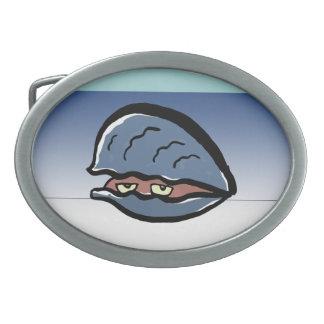 clam belt buckle