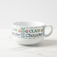 Clam Chowder 2 Soup Mug