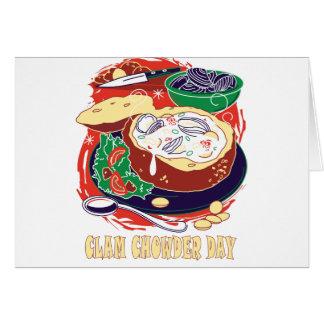 Clam Chowder Day - Appreciation Day Card