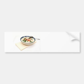 Clam Chowder With Paprika Bumper Sticker