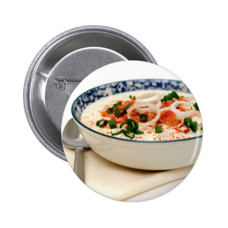 Clam Chowder With Paprika Buttons