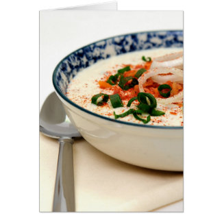 Clam Chowder With Paprika Card