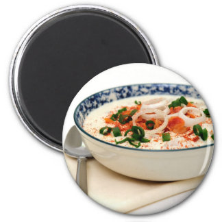 Clam Chowder With Paprika Magnet