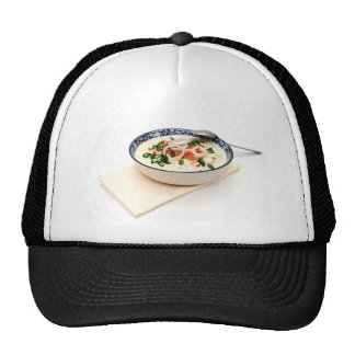 Clam Chowder With Paprika Trucker Hat