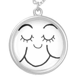 Clam face Necklace