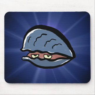 clam mouse pad