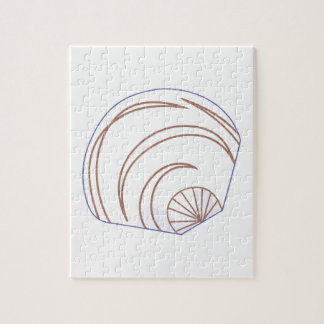 Clam Shell Applique Jigsaw Puzzle