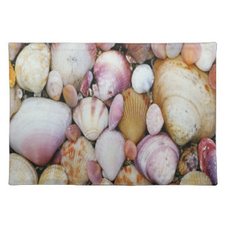 Clam Shell Cloth Placemat