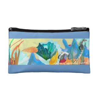 Clam Shell Clutch Cosmetic Bag