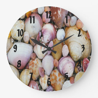 Clam Shell Large Clock
