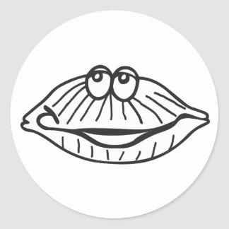 clam stickers