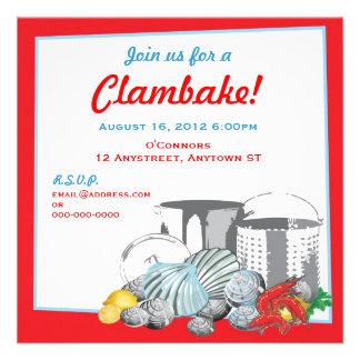 Clambake Invitation