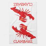 Clambake Toallas De Cocina