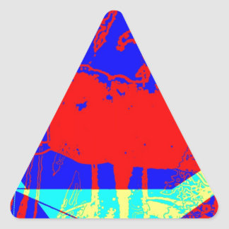 Clamp Brass A Triangle Sticker