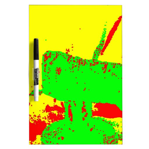Clamp Brass B Dry-Erase Whiteboards