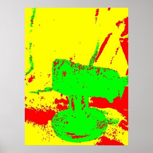 Clamp Brass B Poster