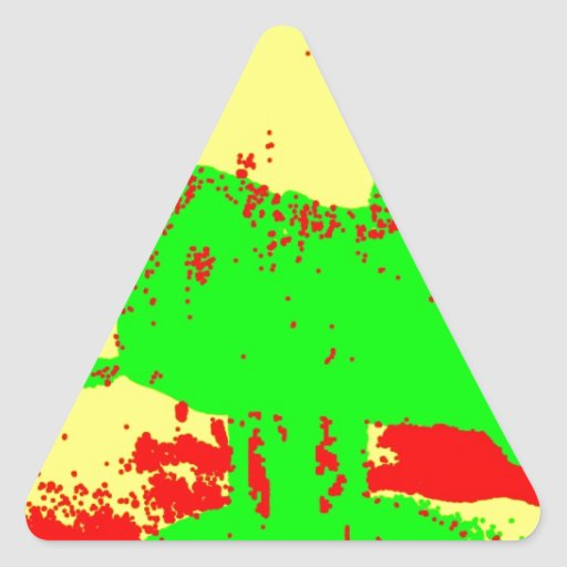 Clamp Brass B Triangle Sticker
