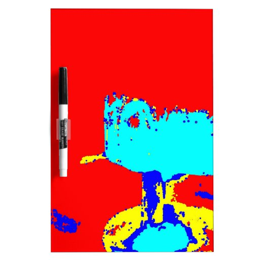 Clamp Brass C Dry-Erase Whiteboard