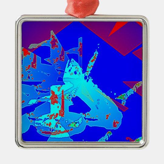 Clamp Brass D Metal Ornament