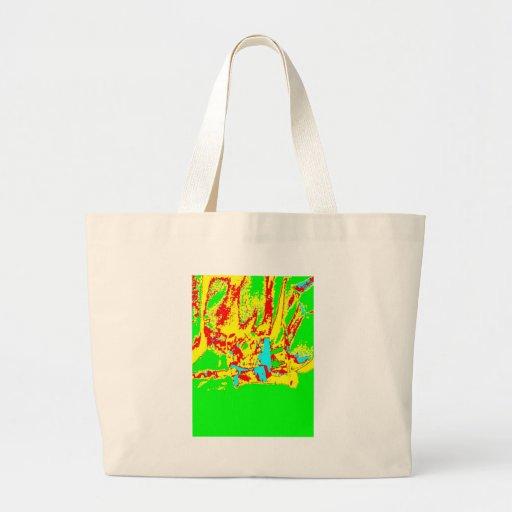 Clamp Brass F Jumbo Tote Bag