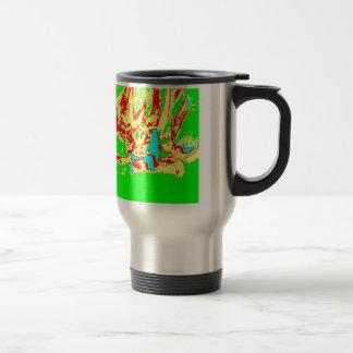 Clamp Brass F Travel Mug