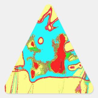 Clamp Brass G Triangle Sticker