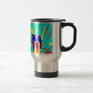 Clamp Brass H Travel Mug
