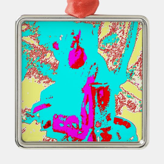 Clamp Brass I Metal Ornament